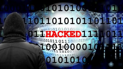 Hacked Hack Digits Binary Cyber Data Black